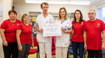 Když hudba pomáhá. Nemilanští sokolové věnovali výtěžek koncertu sedmi kapel Onkologické klinice FN Olomouc