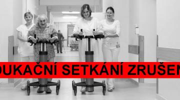 Edukační setkání pacientů před operací kolenního a kyčelního kloubu je zrušeno