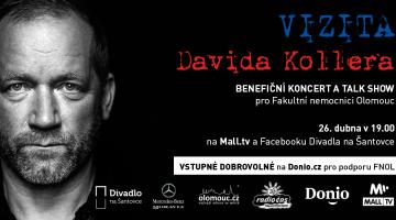 David Koller zahraje pro Fakultní nemocnici Olomouc