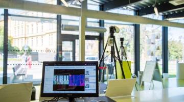 Fakultní nemocnice Olomouc testuje termokamery pro podporu záchytu příznaků koronaviru