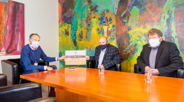 Sbírka obce Štěpánov vynesla pro FN Olomouc téměř 350 tisíc korun. Děkujeme všem dárcům!