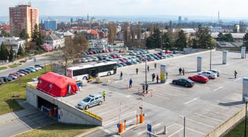 Fakultní nemocnice Olomouc nabízí možnost vyšetření na onemocnění COVID-19 pro samoplátce