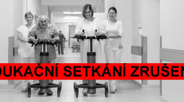 Červnové edukační setkání pacientů před operací kolenního a kyčelního kloubu je zrušeno
