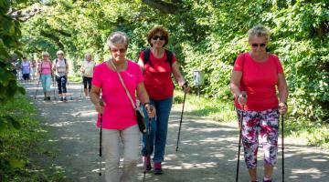 Srdeční procházkové trasy míří do regionů, začíná se v Olomouci