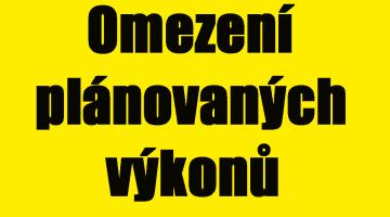Omezení plánovaných výkonů ve FN Olomouc