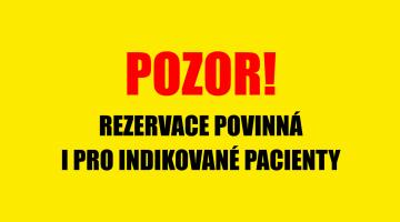 FN Olomouc zavádí povinné rezervace na vyšetření COVID-19 i pro indikované pacienty