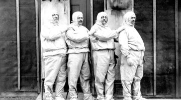 O vojáky z Velké války pečoval i personál Zemských ústavů