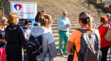 Kardio cvičení v Čechách pod Kosířem přilákalo desítky pacientů